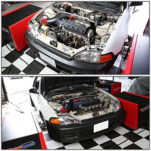 For 88-00 Honda Civic//CR-X D-Series D15//D16 Stainless Steel 4-1 Exhaust Header