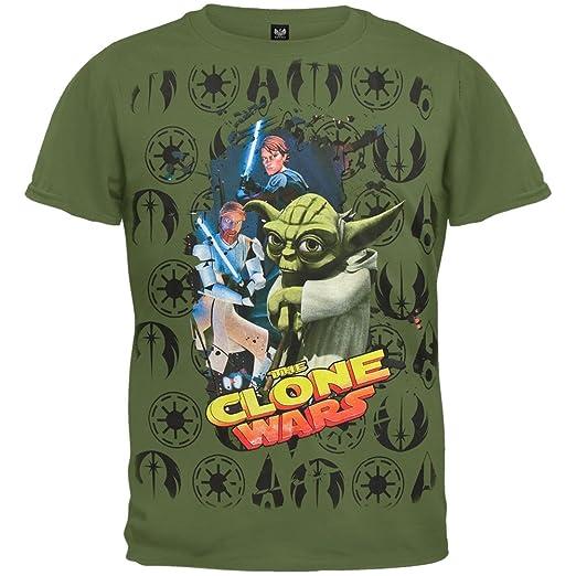 Boys Clone Wars Cast Juvy T-Shirt Star Wars