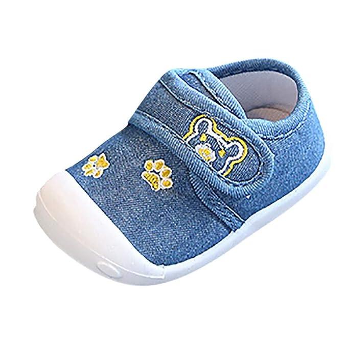 6bbbc882c70a3 Zapatos de bebé para Hombres y Mujeres Zapatos para niños pequeños  adecuados para niños de 0
