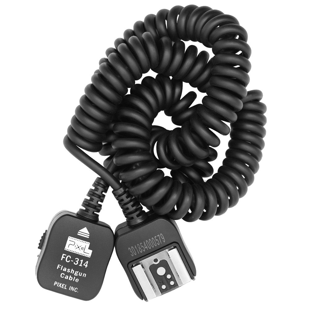 Pixel FC-314/3.6M Off-Camera Connecting Flashgun Cable for panasonic and Olympu