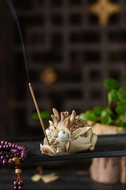 PHILOGOD Ceramics Fish Incense Holders Home Decoration Creative Incense Sticks Burner Gift Box