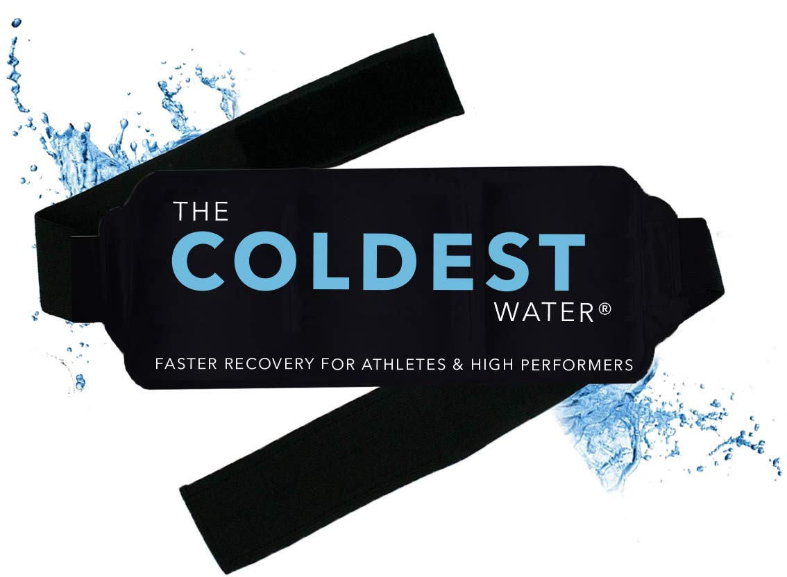 The Coldest Ice Pack Gel Reusable - Hot + Cold Therapy - Flexible Compress Best for Back Pain Hip Shoulder Neck Ankle Sprain Recovery, Muscle Injury Medical Grade by The Coldest Water