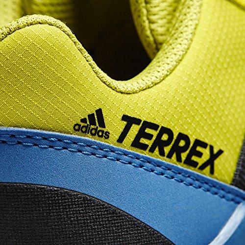 adidas Terrex Ax2r K, Zapatos de Senderismo Unisex Niños, Azul (Azubas/Negbas/Limuni), 38 EU