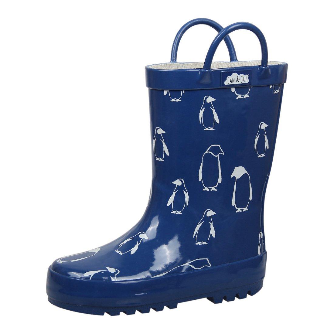 Jan /& Jul Natural Rubber Rain Boots Toddler Boys Girls Kids