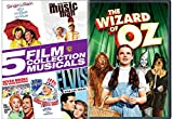 rain man - Classic Musical DVD Collection - The Wizard of Oz, Singin' In the Rain, The Music Man, Seven Brides for Seven Brothers, Yankee Doodle Dandy & Viva Las Vegas 4-DVD Set