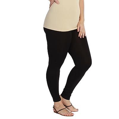 A.S PLUS Nikibiki Basic Thick Nylon Jersey Long Leggings (One Size)