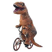 Ohlees® T-Rex Costume dinosauro gonfiabile Costume Costumi di Halloween per Adulti TRex festa Costumi alto 220cm/7.2ft