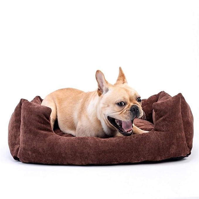 Wuwenw Lounger Cama para Perros Gato Mascota Cama Gatos Camas Casa para Perros Pequeños Grandes Medianos Camas para Mascotas Puppy Kennel Pet Shop Pets ...