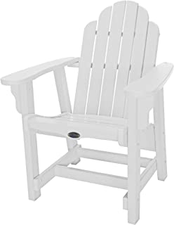 product image for Nags Head Hammocks Classic Conversation Chair, White