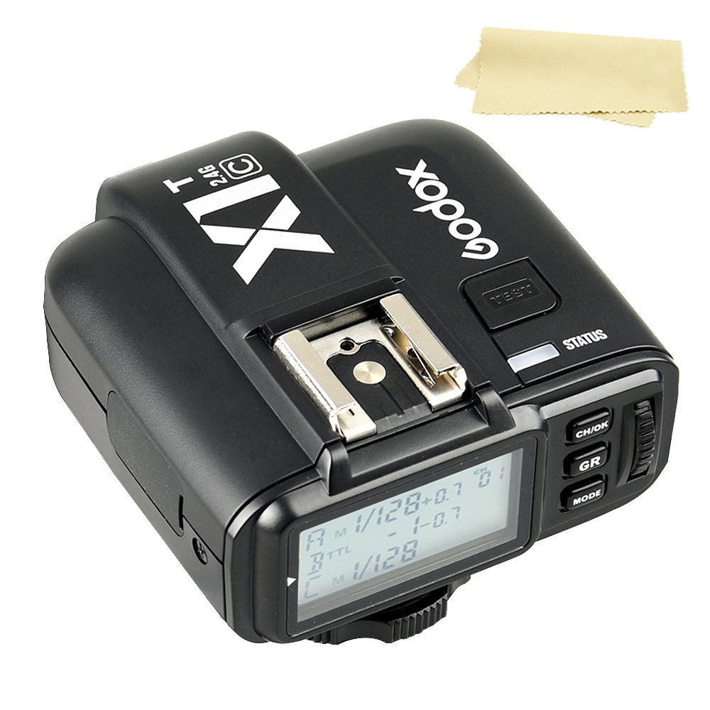 Godox X1T-C E-TTL High-Speed Sync 2.4G Wireless Flash Remote Trigger Transmitter compatible for Canon EOS cameras