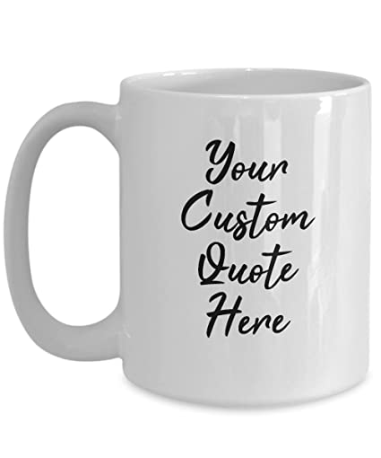 Amazon.com: Jyotis - Personalized with Your Custom Quote ...