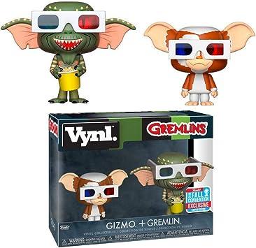 Funko - Figurine Gremlins - 2-Pack Gizmo & Stripe Vynl 10cm ...