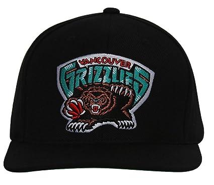 cc2cca14 Amazon.com: Vancouver Grizzlies Mitchell & Ness Logo Snapback Cap ...