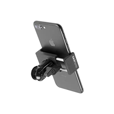 "TACKFORM Motorcycle Phone Mount - 1"" Coupler - Heavy Duty Spring Loaded Phone Holder. Compatible with RAM 1 Inch Ball System. NO TETHER NEEDED, but we include one anyway.: Automotive"