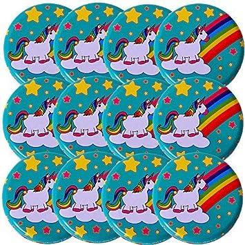 TE-Trend 12 Piezas Yoyo Yoyo Set Dibujo Arco Iris Unicornio ...