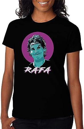KRIKST Tennis Player Nickname Smile Camiseta para Mujer
