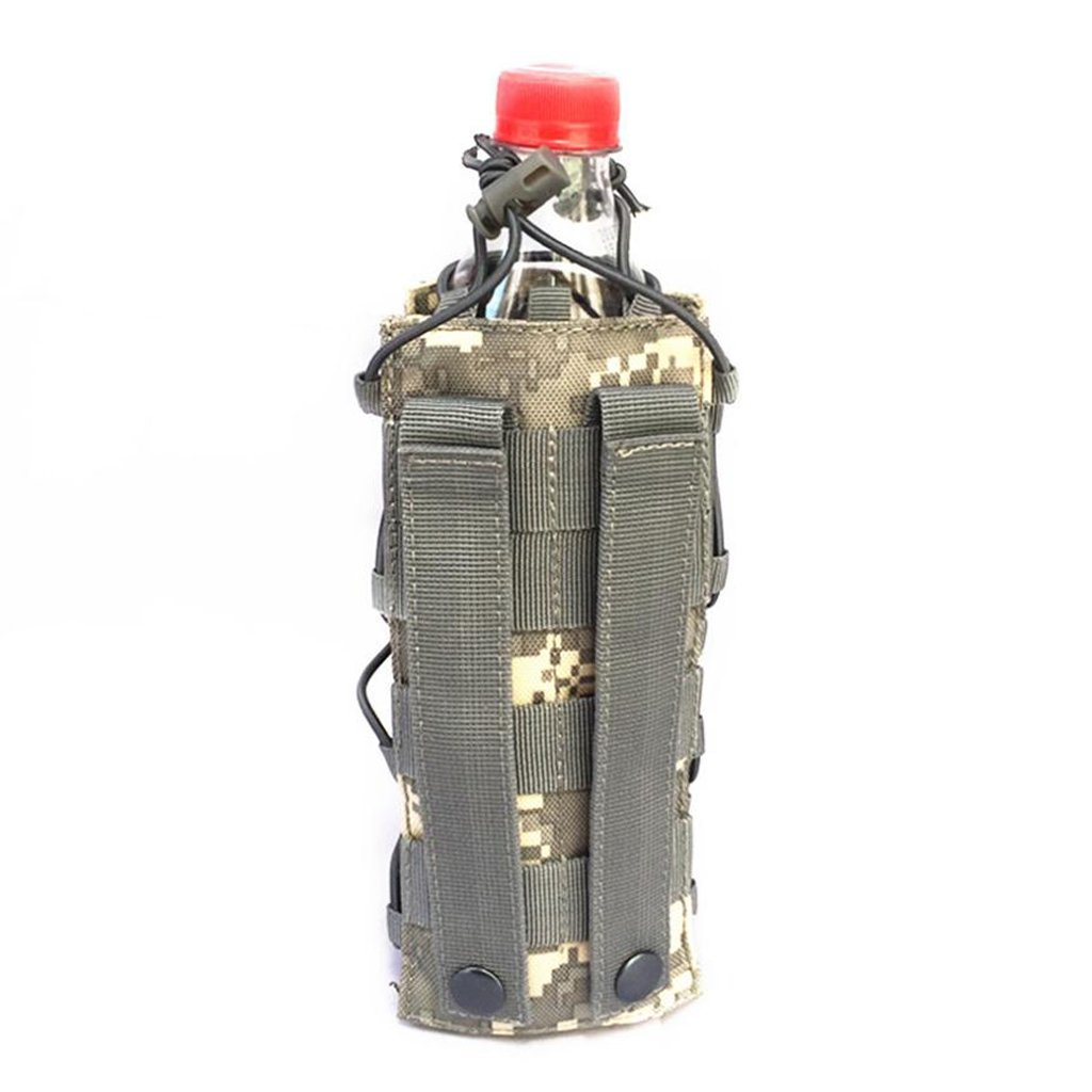 Multifunctional Hydration Bag Case MagiDeal Adjustable Water Bottle Carrier Drink Kettle Holder MOLLE Walkie Talkies Intercom Pouch