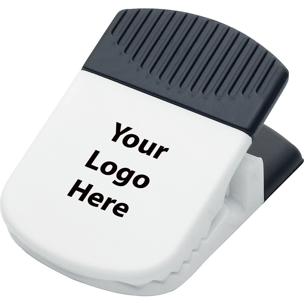 Jumbo Magnetic Memo Holder / Clip - 300 Quantity - $1.15 Each - PROMOTIONAL PRODUCT / BULK / BRANDED with YOUR LOGO / CUSTOMIZED