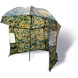 Zebco Erwachsene Schirme Nylonstorm Umbrella 2.20m Camou, Mehrfarbig, 9974253