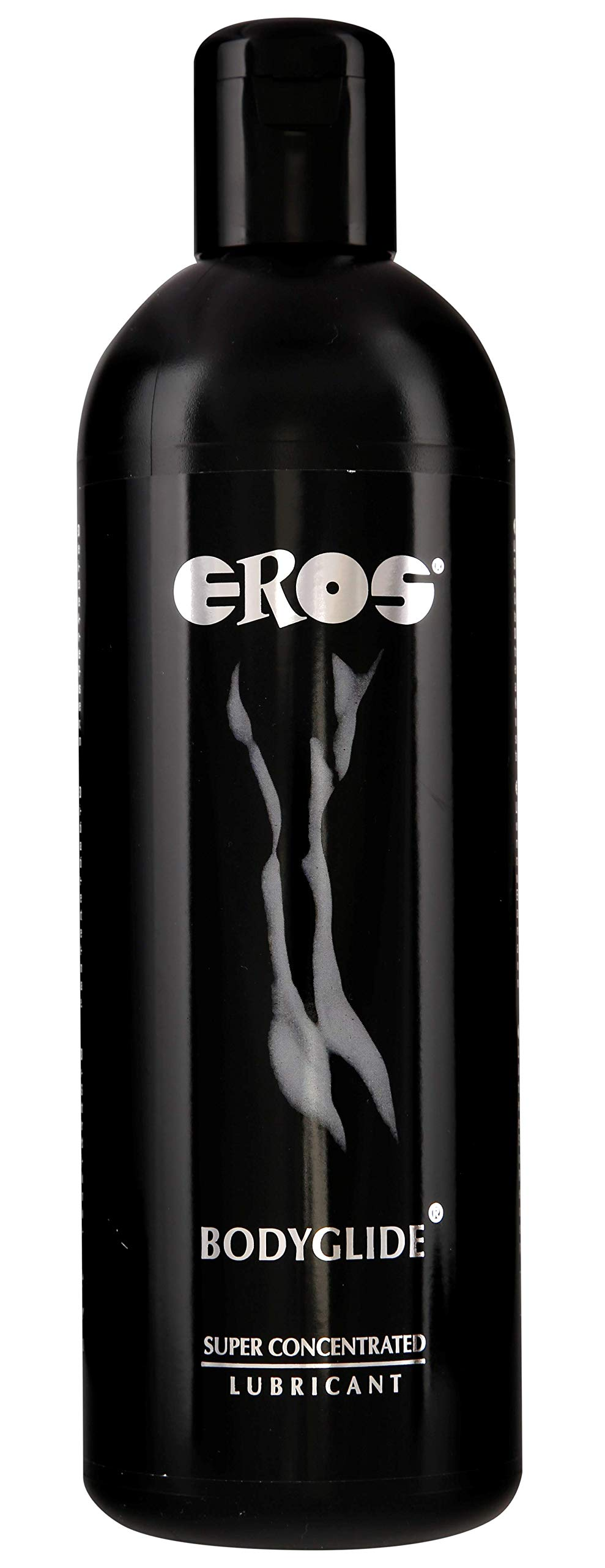 Megasol EROS Bodyglide Super Concentrated Body Gel - Silicon Based Personal Lubricant. Latex Condom Safe, Ultra Long-Lasting Sex Lube Without Parabens or Glycerin ~ 1000 mL by EROS
