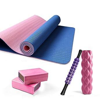 5 juegos de esterillas de yoga para yoga, fitness, yoga ...