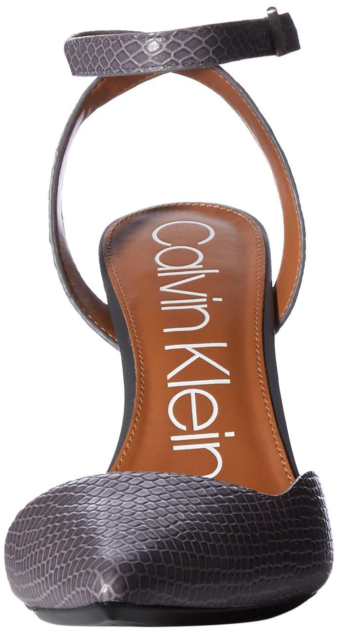 Calvin Klein Women's Raffaela Pump B07CHSG93Y 8 B(M) US|Steel Greystone