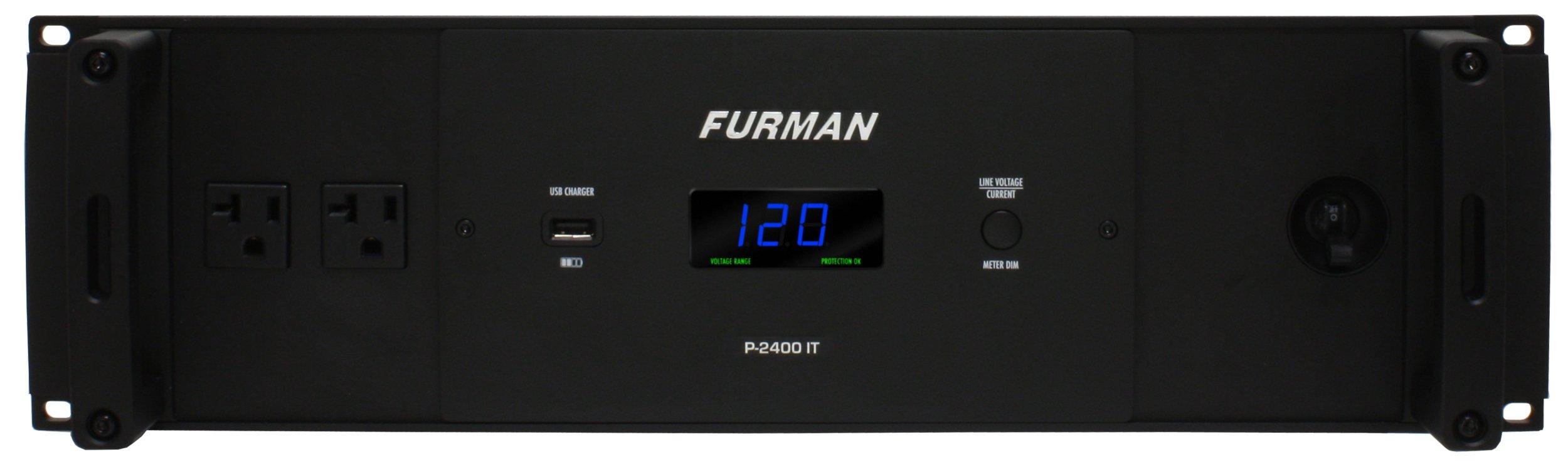 Furman P-2400 IT Power Conditioner - Black