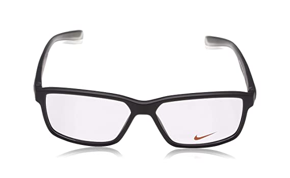 24041dd033 Amazon.com  Eyeglasses NIKE 7092 010 MATTE BLACK ANTHRACITE CLEAR  Sports    Outdoors