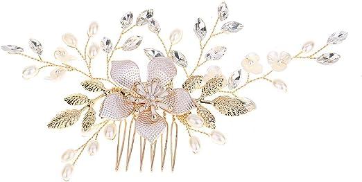 6pcs Braut Hochzeit Perlen Haarnadeln Haarspangen Kopfschmuck Schmuck