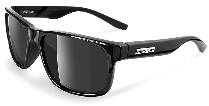Amazon.com: Newport Sol Polarizadas Antigua, negro, talla ...