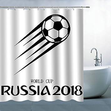 Polyester-qianliansheji Vorhang für die Dusche-Bad Vorhang 177,8 x ...