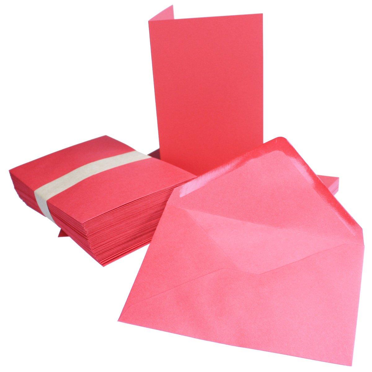 75 Sets - Faltkarten Hellgrau - Din A5  Umschläge Din C5 - Premium Qualität - Sehr formstabil - Qualitätsmarke  NEUSER FarbenFroh B07BSLFH44 | Spielen Sie das Beste