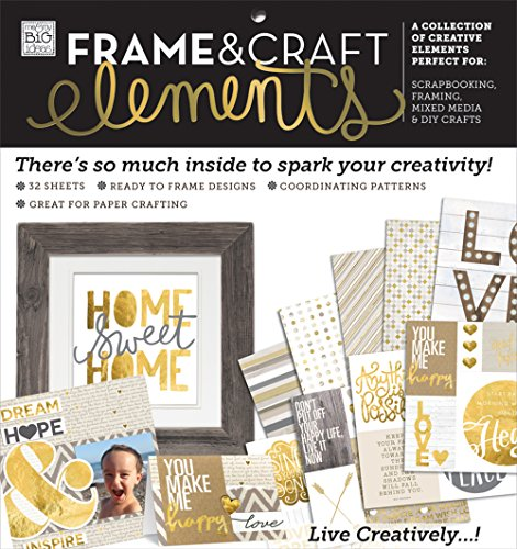 me & my BIG ideas Home Sweet Home Paper Pad, - Banner Chipboard Elements