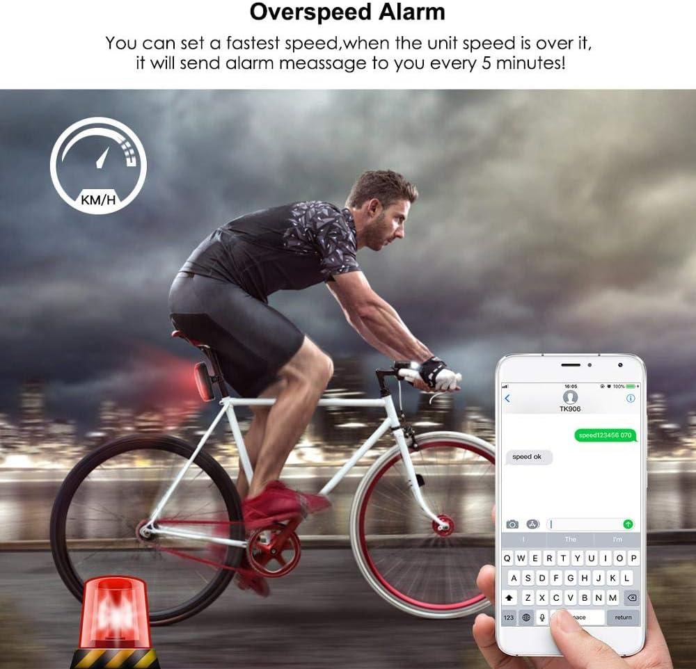 JIANYONG Bicicleta GPS Tracker Bike TK906 Localizador Tiempo de ...