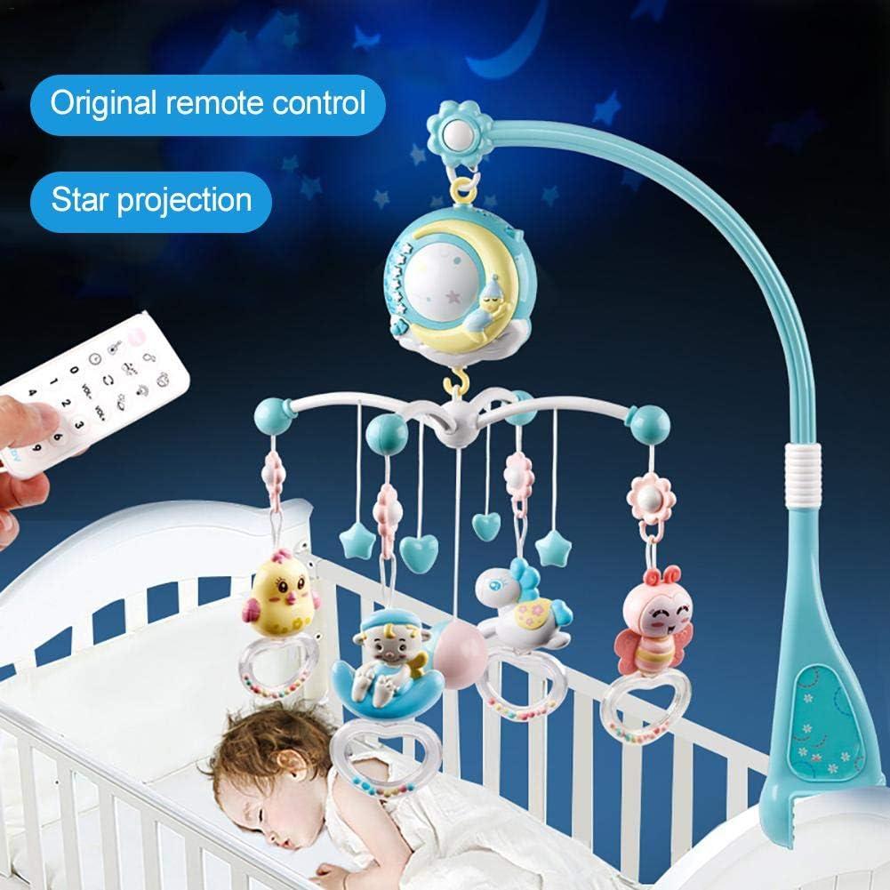 Móvil Musical Campanilla Con Móvil proyector Musical Para Bebé, 3 ...