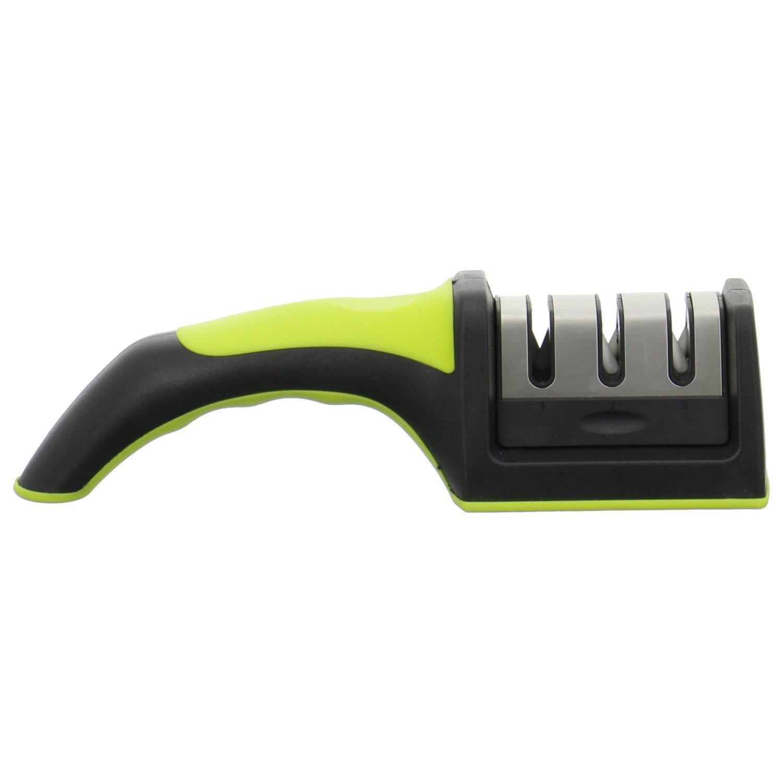 frimi Messerschärfer - Küchenmesser schärfen wie ein Profi (lime ...