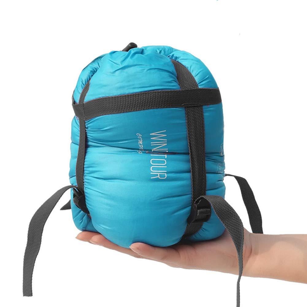 Meiyiu Ultralight Outdoor Emergency Sleeping Bag, Portable Moisture-Proof Camping Sleep Pad Light Blue by Meiyiu