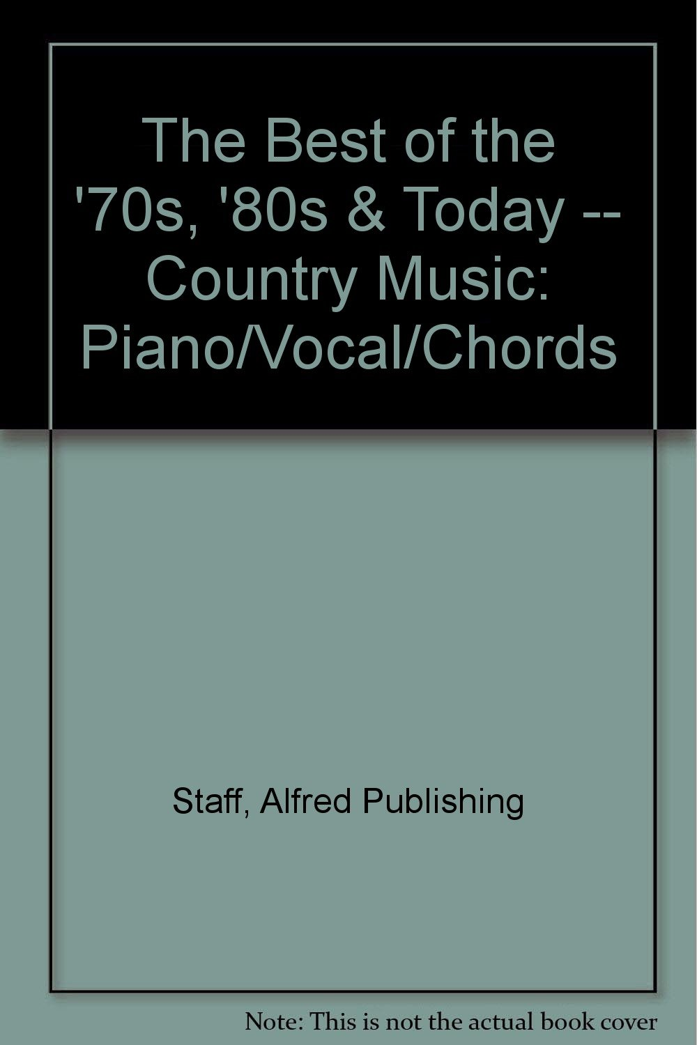 The Best Of The 70s 80s Today Country Music Pianovocal