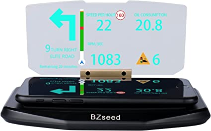 Universal Head Up Display Car HUD Holder Phone GPS Image Reflector Holder Mount