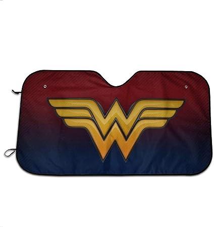 LANGHALQNGQ Parasol para Parabrisas con Logo de Wonder Woman para Mantener tu vehículo Fresco y con Pantalla Protectora contra el Calor: Amazon.es: Hogar