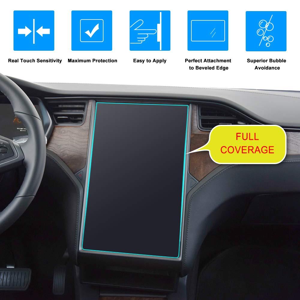 Anti-Glare 1-Pack J/&D Compatible for Tesla Model X//Tesla Model S Car Navigation Screen Protector Anti-Fingerprint Matte Screen Protector for 60 60D 70 70D P85D 90D 100 P100D 75D P90D P100D
