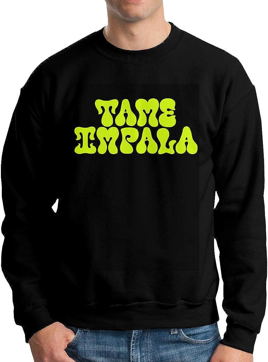 DouglasDFraser Tame Impala Mens Round Neck Sweatshirt Casual Hoodie