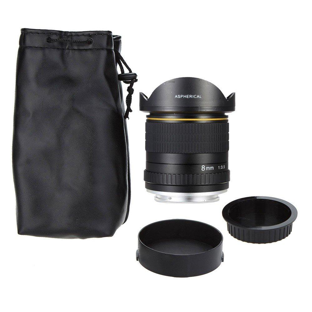 Jintu 8mm F35 Fisheye Manual Focus Hd Lens Ultra Wide Parts Diagram Where To Get For A Nikon D5000 Slr Camera Photo
