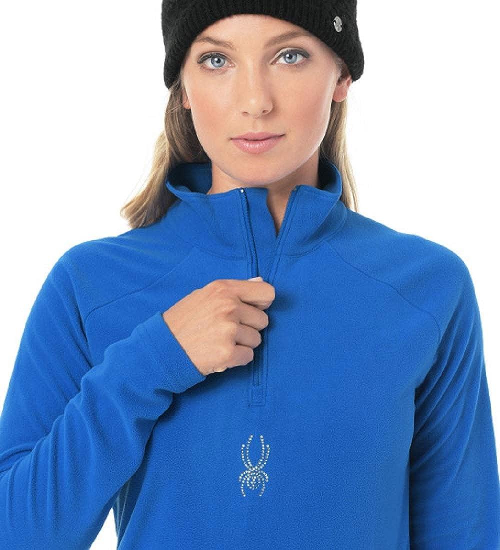 Spyder Womens Shimmer Half Zip T-Neck