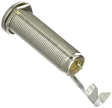 amazon com: all parts ep 0151-000 long threaded 1/4-inch input jack:  musical instruments