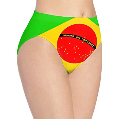 a198ac41cb834 Amazon.com  Brazilian Flag Girl Low Waist Panties Seamless Party Shorts  Panties  Clothing