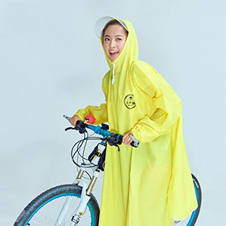 Chubasqueros QFF Ride Poncho Individuo Ms Estudiante Bicicleta ...