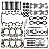 #10: Cylinder Head Gasket Set with Bolts Kits Fits For 1998-2004 Acura Honda Isuzu 3.2L 3.5l DOHC 6VE1 6VD1