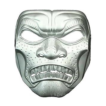 Mascara facial careta protector de cara dominó frente falso Halloween cine y televisión tema de terror