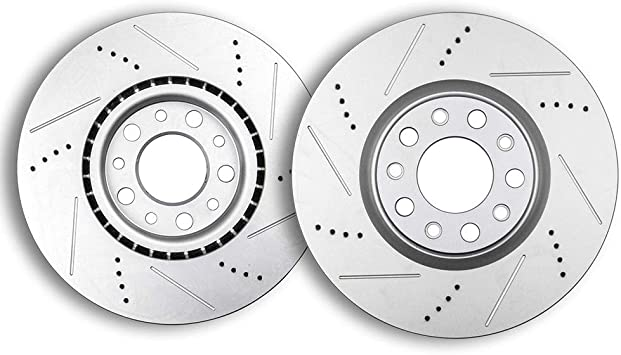 2013 2014 2015 2016 Jeep Patriot Disc Brake Rotors and Free Pads Front